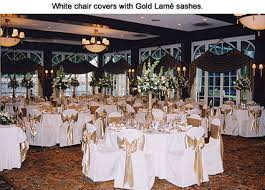 black and white chair covers party linens cairs