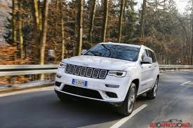 jeep summit 2017 nuova jeep grand cherokee 2017 prova su strada in anteprima