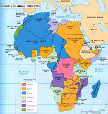 Africa Maps by Map Of Colonized Africa 1880 1914 Important For Teaching Chinua