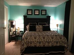 Blacku White And Tiffany Blue Bedroom Yes Please Decor - Blue and black bedroom ideas