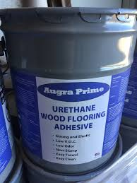 augra prime urethane wood flooring adhesive 5 gallon