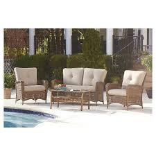Discount Wicker Patio Furniture Sets Lakewood Ranch 4 Steel Woven Wicker Outdoor Patio Furniture