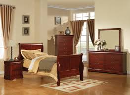 cherry sleigh bed acme acme louis phillipe iii full sleigh bed in cherry 19528f