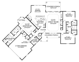 ranch home plans with open floor plans plan 3877ja rustic angled ranch home plan breakfast nooks nook