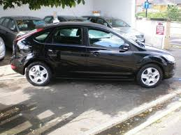 used ford focus tdci used ford focus 2009 1 6 tdci style 5dr black for sale in