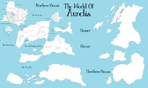 Southern Ocean Map Scrap Aurelia Map By Theflyingsniper On Deviantart