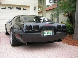 c4 corvette mods c4 corvette 1990 1996 base zr1 rear taillight smoke gray black