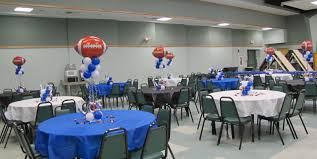banquet table decorations photos pictures of football banquet table decorations photograph