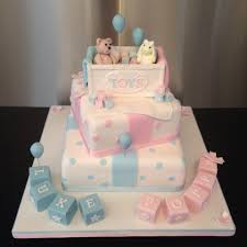 christening baby shower and gender reveal cakes sugarperfection