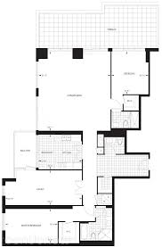 gibson square tower 2 by menkes penthouse 101 floorplan 2 bed u0026 3