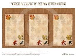 best photos of printable fall tags leaf free printable fall