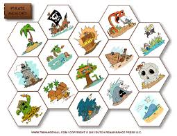 free printable memory game for kids featuring pirates pirate game