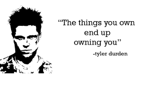 Tyler Durden Meme - the things you own end up owning you 33 tyler durden meme on me me