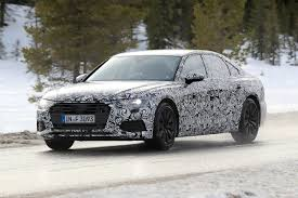 new 2018 audi a6 first spyshots of audi u0027s 5 series rival auto