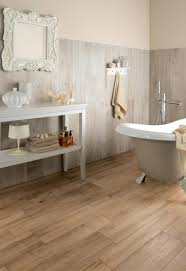 Bathrooms With Clawfoot Tubs Ideas by Rustic Vanity Idea Plus Cool Wood Bathroom Floor Tile Feat