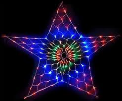 bright star led christmas lights led star net lights bright multicolour flashing outdoor christmas