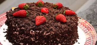 continental eggless black forest cake recipe how to make