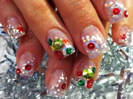 nail art untraditional christmas nail art