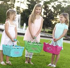 monogrammed baskets personalized easter baskets is every bunny ready carolina