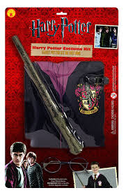 wizard costume wand rubie u0027s official harry potter pack gryffindor robe wand and