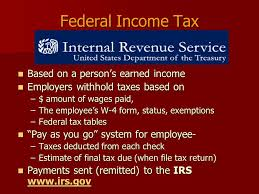 W 4 Withholding Table Taxes U0026 Spending Payroll Deductions 4 01 U2013 Explain Taxes On Income
