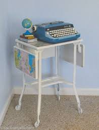 Modernizing Antique Furniture by Updating Old Furniture Using Maps Lovely Etc