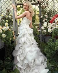 Gorgeous Wedding Gowns Martha Stewart wedding dresses inspired by flowers martha stewart weddings