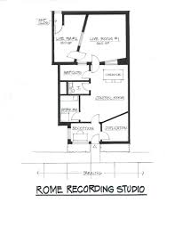 Recording Studio Floor Plan by Rome Recording Recording Grove City Columbus Oh