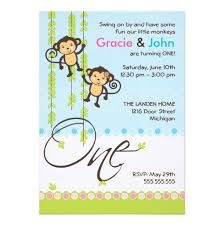 boy and first birthday invitation card