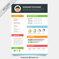 Sample Graphic Designer Resume by Free Resume Templates Graphic Designer Template Vector Download