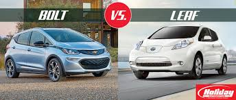 nissan leaf apple carplay chevrolet bolt vs 2017 nissan leaf