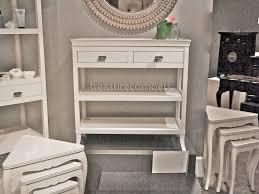 White Hallway Console Table Modern White Hallway Console Table With Cottage Chic White Wood