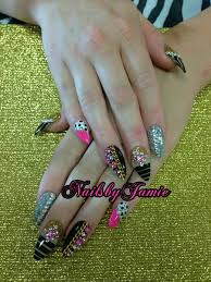 nails by jamie melchor at nailville in fresno ca almond