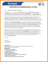 writing a sponsorship letter weekly status report