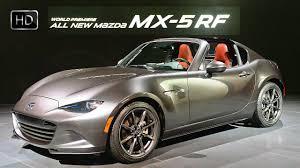 mazda sports car 2017 2017 mazda mx 5 miata rf hardtop convertible exterior u0026 interior