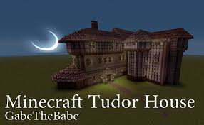 tudor style manor minecraft project