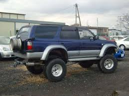 1995 Toyota Hilux Surf 3 Generation Off Road Wallpapers Specs And