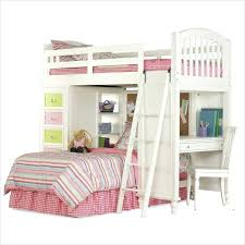 Cymax Bunk Beds Desk Olympic White Wooden Bunk Beds With Desk And Trundle Wildon