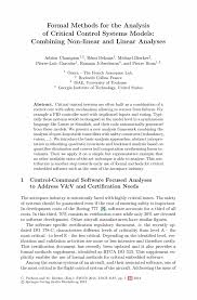 Example Of A Formal Essay Formal Methods For Industrial Critical Systems Springer