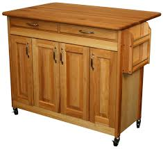 Kitchen Butcher Block Island Catskill Craftsmen Butcher Block Island With Raised Panel Doors