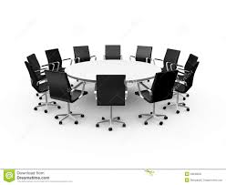 Office Chair Clipart Conference Table And Office Chairs Royalty Free Stock Photo