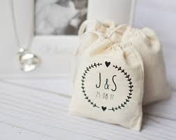 personalized favor bags custom favor bags etsy