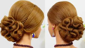 hair tutorials for medium hair wedding prom updo bridal hairstyle for long hair tutorial youtube