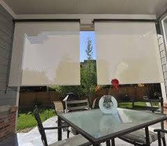 Outdoor Solar Shades For Patios Keep Your Patio Cool W Outdoor Shades U0026 Blinds Americanblinds Com