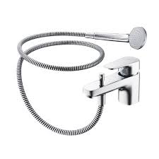 ideal standard tempo chrome bath shower mixer tap bath taps