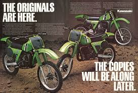 motocross bikes for sale in kent 1981 kawasaki kx125 kx250 kx420 uni trak vintage dirt bike