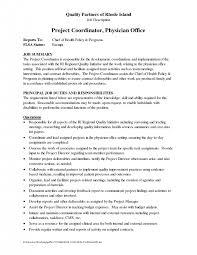 Activities Coordinator Resume Sample Project Coordinator Resume Office Coordinator Resumes
