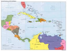 Political Map South America by Map Of Central America 1887 Want To Do Business In Latin America