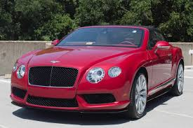 red bentley cost 2014 bentley continental gtc v8 s stock 4nc096392 for sale near
