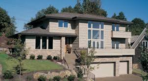 front sloping lot house plans wickford 5546 3 bedrooms and 3 5 baths the house designers